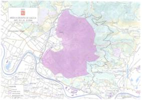 Incendio Monti Pisani: divieto di caccia fino al 31 gennaio