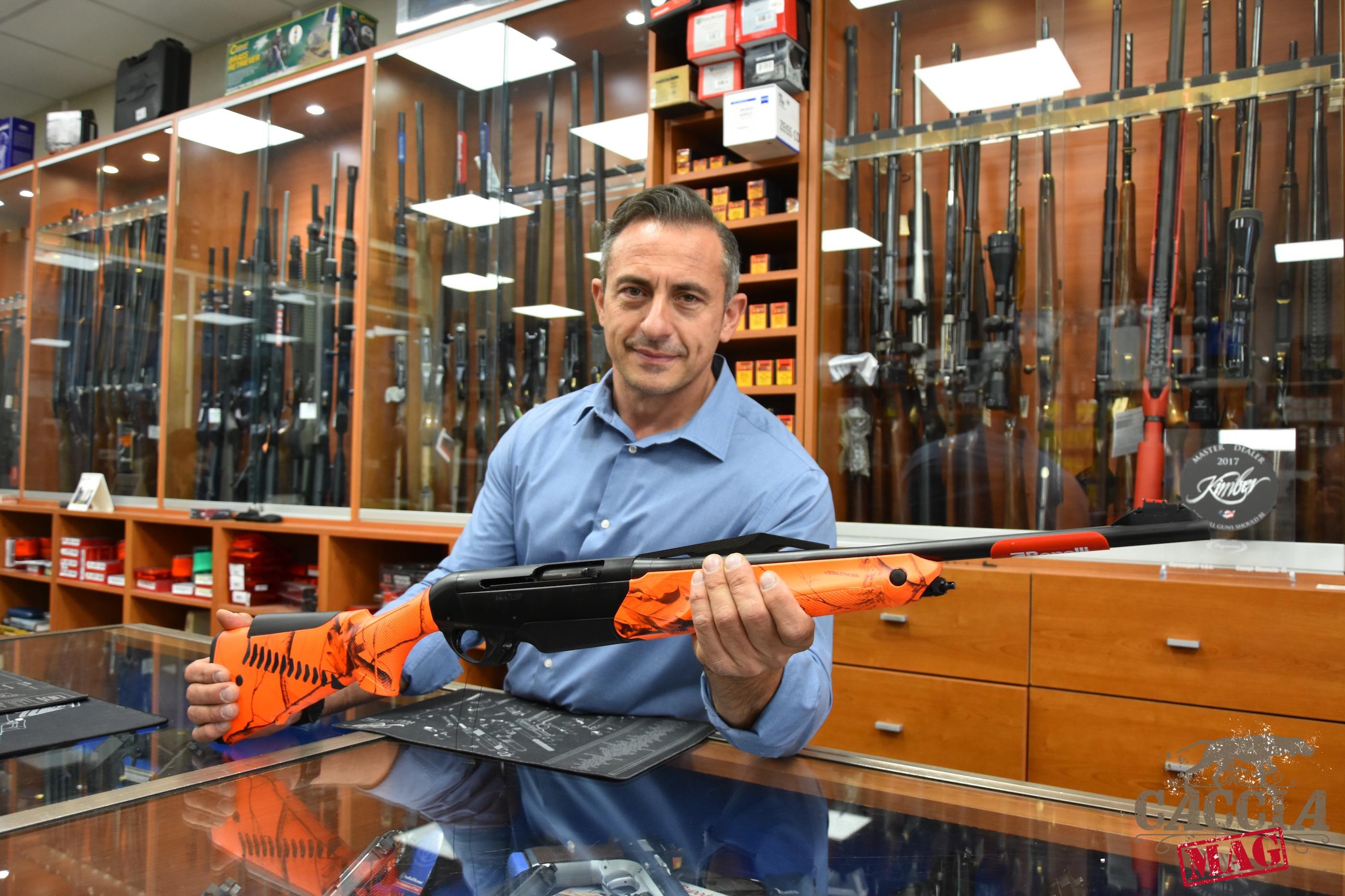 Stefano Gherardeschi titolare armeria Florensport